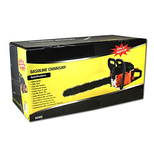 22'' 52CC GAS CHAINSAW by Voyager Tools