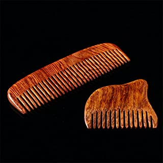 Hainan Huanghua pear oil Lei anti-static wooden comb Wsd