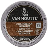Van Houtte Colombian Medium Single Serve Keurig Certified K-Cup pods for Keurig brewers, 24 Count