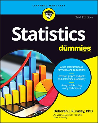 Statistics For Dummies (For Dummies (Math & Science)) cover