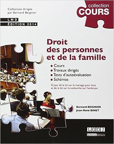Livres gratuits Droit des personnes et de la famille pdf, epub