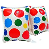 Play Day Aegs 3-6 Inflatable Water Wings White Polka Dots