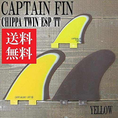 LA ESPECIAL CHIPPA WILSON NPJ TWIN 2-FIN+1 TT YELLOEW FCS/FCS2/エフシーエス ツインスタビライザー2+1 [並行輸入品]   B07PBQ6TJ8