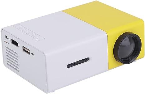 Mini proyector 12 V con LED 1080P HD Mini Teatro de Portátil Cine ...