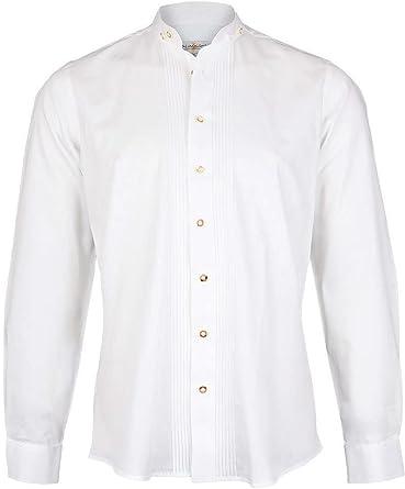 Almsach Hans - Camisa de Cuello Alto para Hombre, Color ...