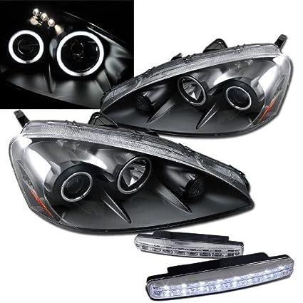Amazoncom Acura Rsx Projector Headlights With Dual Ccfl Halo - 2006 acura rsx headlights