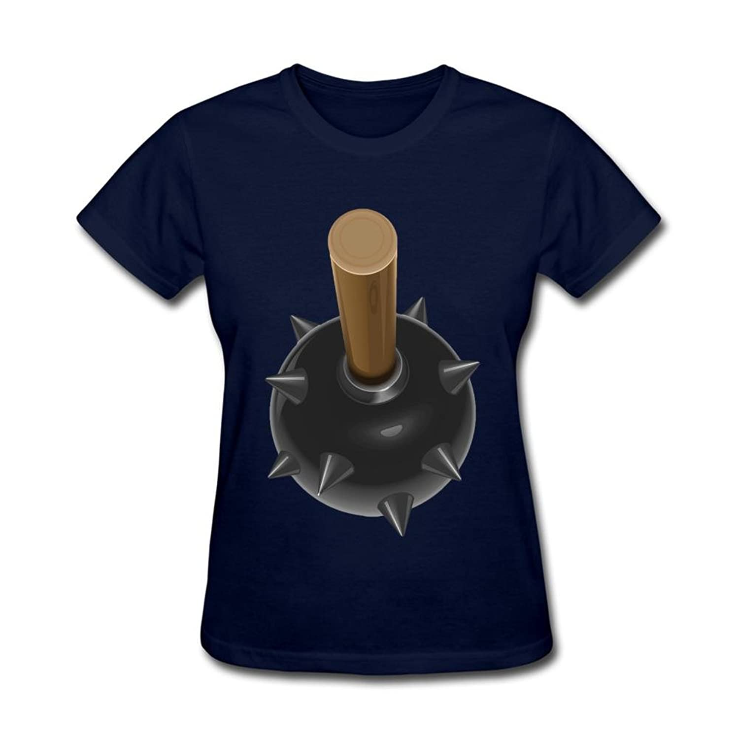 Mace Hammer 100% Inorganic Cotton Customized Tee for Womens by HLPVQR