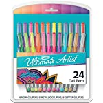 RoseArt Ultimate Artist Gel Pens, 24 count