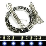 "Blue 24"" LED strip light 30 SMD ultra lights for audi style headlights"