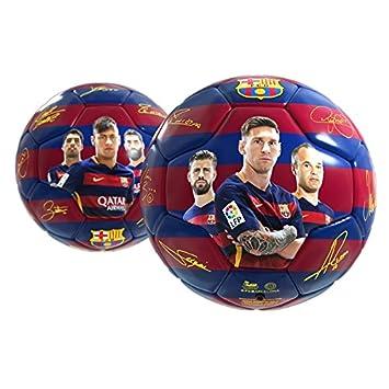 BALON FC.BARCELONA JUGADORES: Amazon.es: Juguetes y juegos