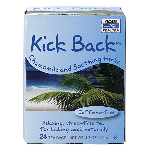 - Now Foods Tea Bags, Kick Back, 24 Box