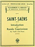 INTRODUCTION AND RONDO CAPRICCIOSO OP28 VIOLIN & PIANO by Camille Saint-Sa?ns (1986-11-01)