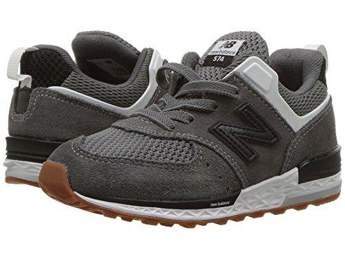 [new balance(ニューバランス)] メンズランニングシューズ?スニーカー?靴 IH574v2 (Infant/Toddler) Castlerock/Black 5 Toddler (12.5cm) W