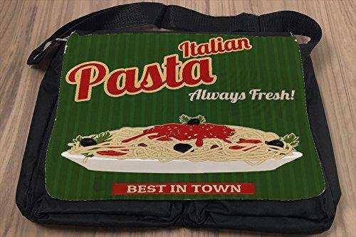 Borsa Tracolla Arredamento Cucina Pasta Stampato
