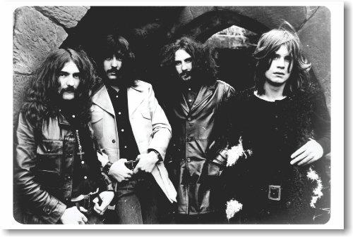 Black Sabbath - 1970 - Ozzy Osbourne NEW Music Poster