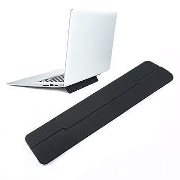 leegoal Soporte Portatil Plegable, Plegable portátil ventilado Stand Riser Soporte de Escritorio Compatible con Apple