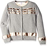 Product review for Little Marc Jacobs Girls' Knitted Cardigan with Leather Effect Stripes