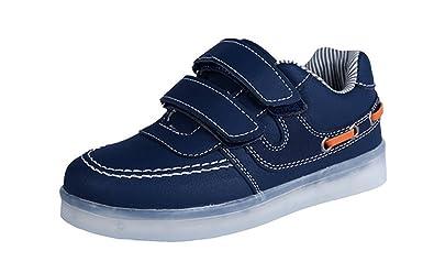 Zapatillas LED con Luces Brillantes para niños Zapatillas Deportivas con luz USB para niños Niños Chicas