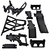 Traxxas 1 16 Mini Slash 4x4 * SKID PLATES BUMPER BODY MOUNTS Posts * E-Revo