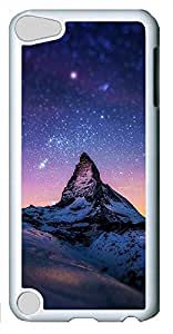 iPod Touch 5 Cases & Covers - Mountains Sky World Beautiful Scenery Custom PC Soft Case Cover Protector for iPod Touch 5 - White