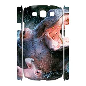ANCASE Hippo Customized Hard 3D Case For Samsung Galaxy S3 I9300