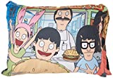 Buckle Down Standard Pillow Case - Bob's Burgers Belcher Family Group Pose4 Outside Restaurant