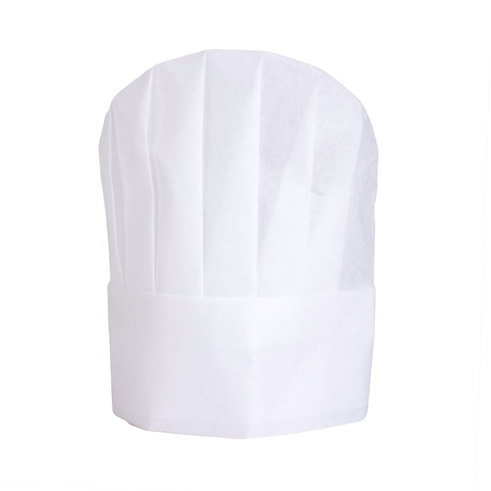 KNG Disposable Chef Hat, pkg of 25