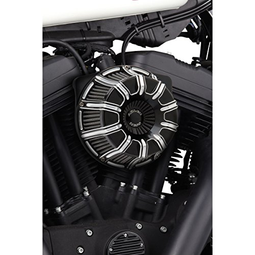 Arlen Ness Inverted Series 10-Gauge Black Air Cleaner Kit 18-941 - Arlen Ness Motorcycle Jacket