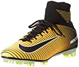 Nike Men's Mercurial Veloce III DF FG Soccer Cleat (9 D(M) US, Laser Orange/Black)