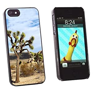 phone covers Graphics and More Joshua Tree National Park Mojave Desert - Snap-On Hard Protective Case for Apple iPhone 5c - Non-Retail Packaging - Black WANGJING JINDA