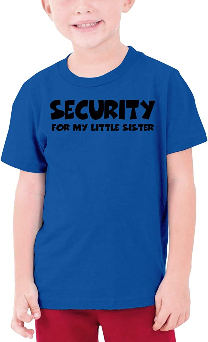 Fzjy Wnx Security for My Little Sister Boys Short-Sleeve Tee