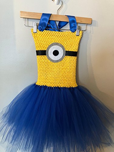 Despicable Me Minions Tutu Dress (5Y - 7/8Y) by Hummingbird Tutus