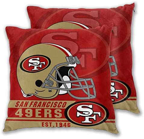 Gdcover Custom Stripe York Jets Pillow Covers Standard Size Throw Pillow Cases Decorative Cotton Pillowcase Protecter with Zipper 18x18 Inches