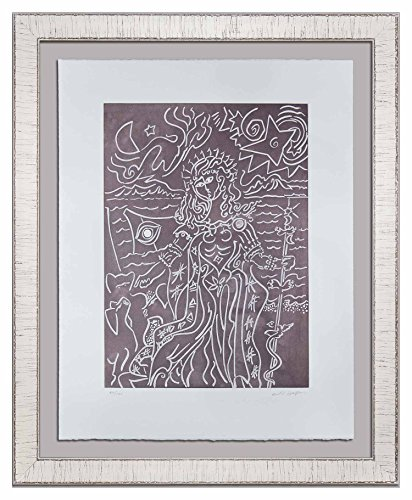 Signed Original Etching (Andre Masson (1896-1987) Original Hand SIGNED Limited Edition Etching | 1978 | CIRCE | Justification, Gallery Provenance | ART183;docs8482; +179;)
