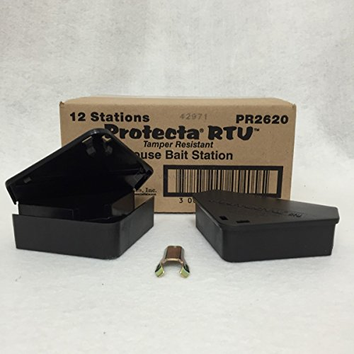 FULL CASE - Protecta RTU mouse Bait station (12 Stations, 2 keys) by ProTecta (Image #3)