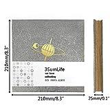 3SumLife Organ Photo Album Scratbook Mini
