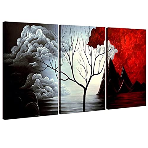 Home Art   Abstract Art Giclee Canvas Prints Modern Art Framed Canvas Wall  Art For Home Decor Perfect 3 Panels Wall Decorations Abstract Paintings For  ...