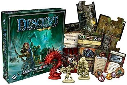 Giochi Uniti – Descent 2ª Edición Color Le nebbie de bilehall, Multicolor, 1: Amazon.es: Juguetes y juegos