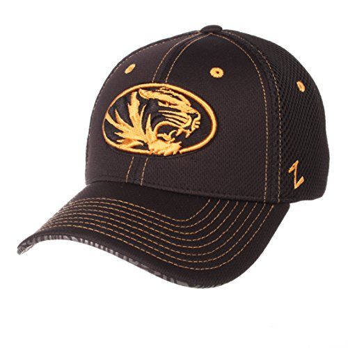 NCAA Missouri Tigers Men's Undertaker Hat, X-Large, Black (Missouri Tigers Visor)