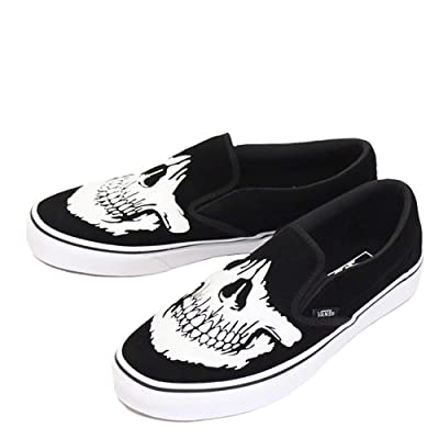 Vans Women's Slip-on(tm) Core Classics (14.5 Women/13 Men, Jawbones) | Fashion Sneakers