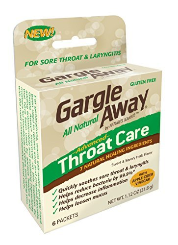 Gargle Away Throat Care, 6-PK by Nature's Jeannie