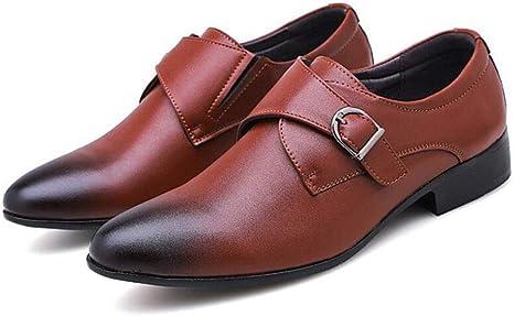 Zapato con Doble Hebilla para Hombre, con Doble Hebilla, en Forma ...