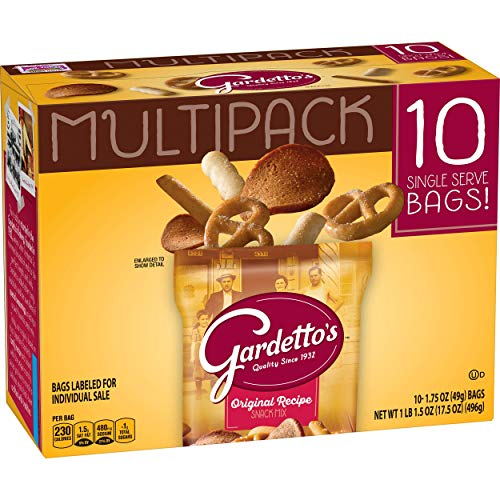 Gardetto's Multipack Original Recipe Snack Mix Bags, 10 Count (Pack of 4) ()