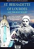 Saint Bernadette of Lourdes, St. Bernadette, Our Lady of Lourdes, The Rosary, Catholic, Saints