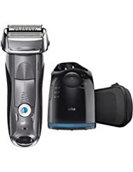 Braun Series 7 790cc Men's Electric Foil Shaver / Electric Razor, with Clean & Charge Station, Cordless