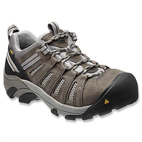 1012856 KEEN Men's Flint Low Safety Shoes - Gargoyle - 15.0EE by Keen