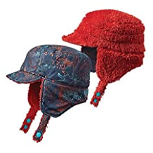 Patagonia Unisex Infant Reversible Shell Hat Forest Folklore/Navy Blue Size 12-18M (20 lbs)