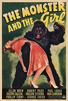 Amazon.com: The Monster and the Girl POSTER Movie (27 x 40 Inches - 69cm x  102cm) (1941): Posters & Prints
