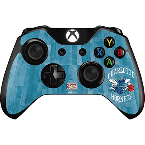 Skinit Charlotte Hornets Hardwood Classics Xbox One Controller Skin - Officially Licensed NBA Gaming Decal - Ultra Thin, Lightweight Vinyl Decal Protection