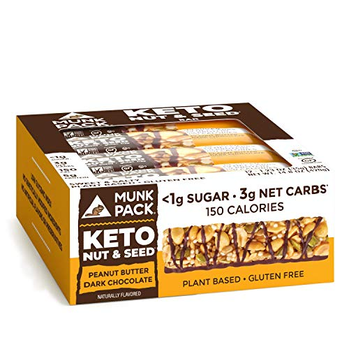 Munk Pack Keto Nut & Seed Bar, 9